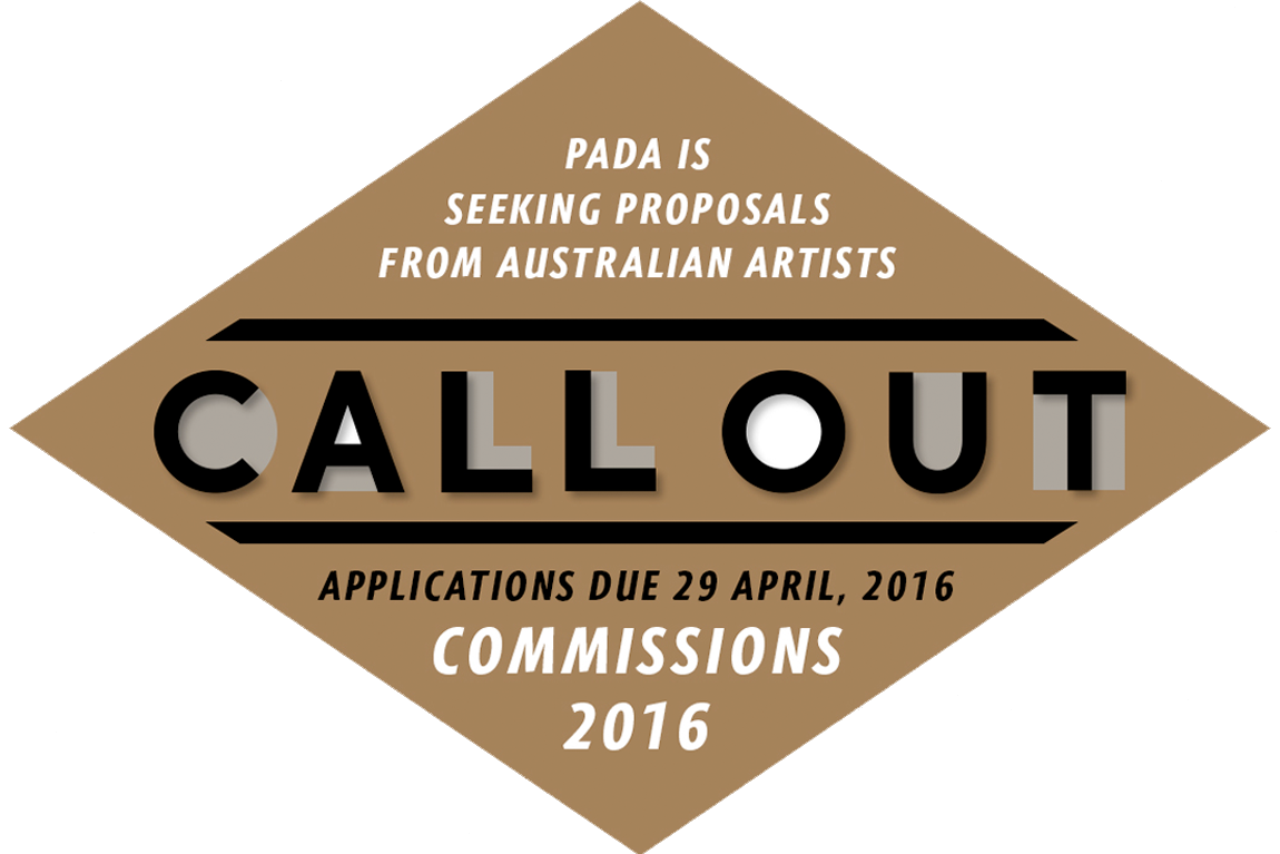 PADA Call out. Commissions 2016